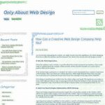 Only About Web Design